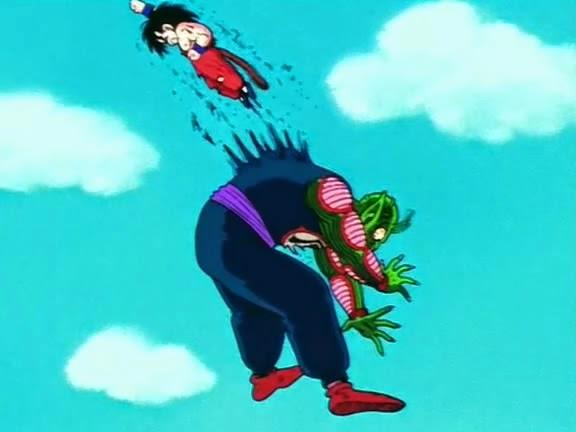 dragonball goku melawan piccolo