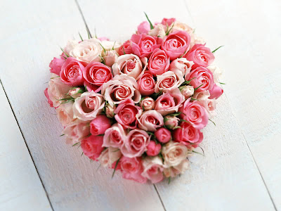 Beautiful Flowers Lovely Heart
