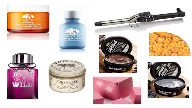 Beauty Christmas Wishlist - Origins, Lush, Enrapture