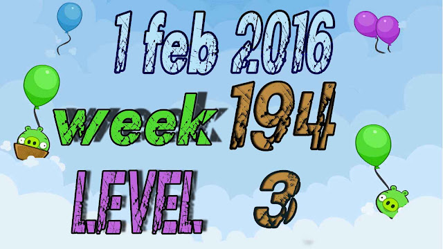 Angry Birds Friends Tournament level 3 Week 194