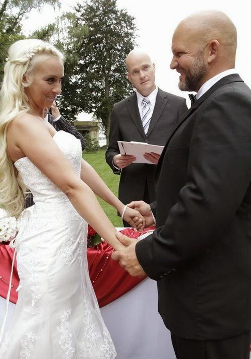 BTN Wedding_Peggy was so beautiful as a bride