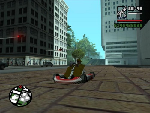 GTA San Andreas (PC) + cheat