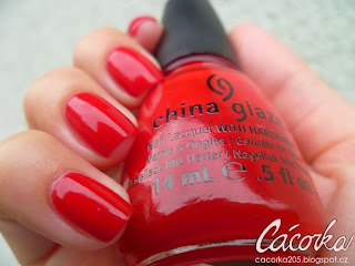 China Glaze - Poinsettia
