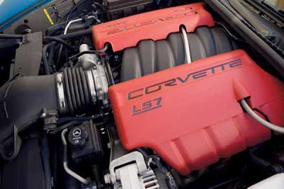 2013 Corvette C7 Review Engine.