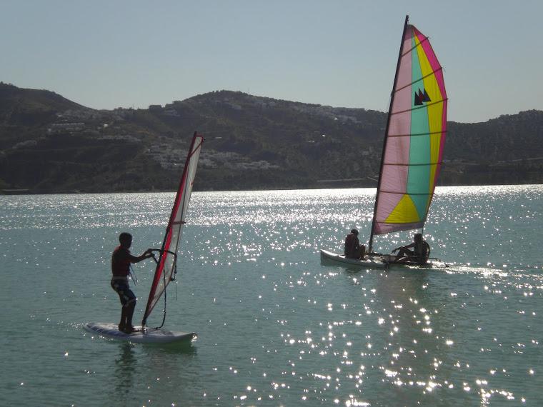 Cursos de cata y de windsurf