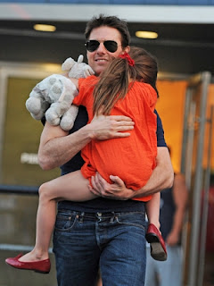 Tom Cruise and daughter Suri reunite in London