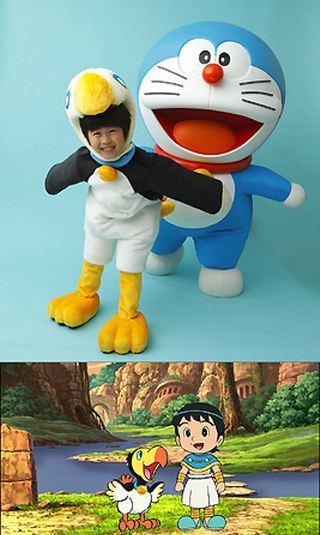 "Doraemon"", "" Doraemon the Movie : Nobita dan Pulau Ajaib"