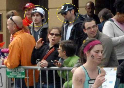 Boston Bomb Attack suspects