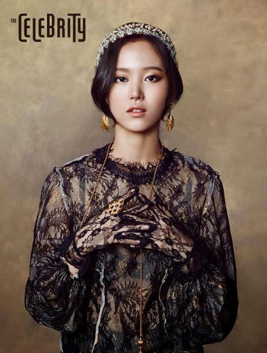 Kang Han Na - The Celebrity Magazine February Issue 2014