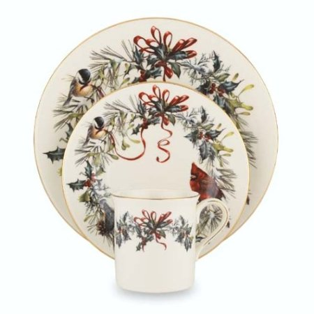 Lenox Cardinal Christmas Dishes
