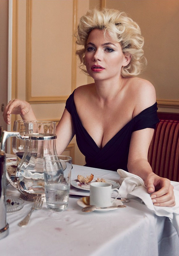 Monroe as glamorous or misunderstood