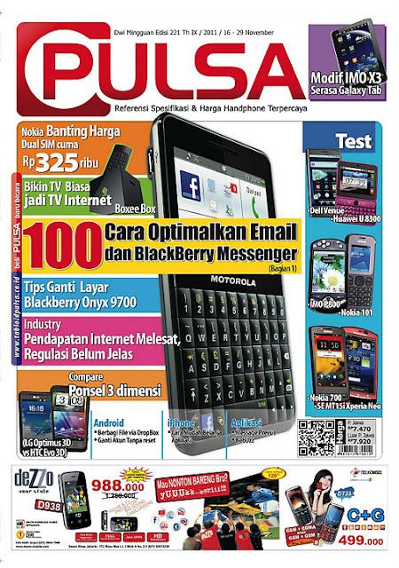 Download Tabloid Pulsa Edisi 221 / 16-29 November 2011