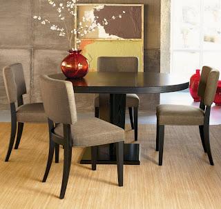 furniture meja makan minimalis modern murah baik dari kayu ataupun bahan lainnya