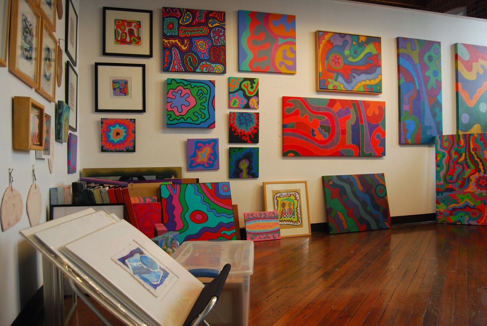 loft artist open studios lina morielli stamford downtown this