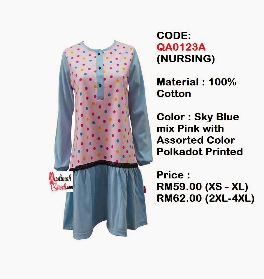 T-Shirt-Muslimah-Qaseh-QA0123A