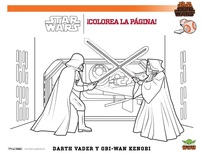 DÍA DE LECTURA STAR WARS - Mi mamá escribe un Blog
