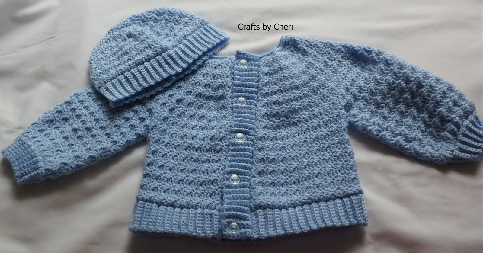 Crochet Baby Boy Sweater Free Patterns : Cheris Crochet Baby or reborn baby doll clothing or ...