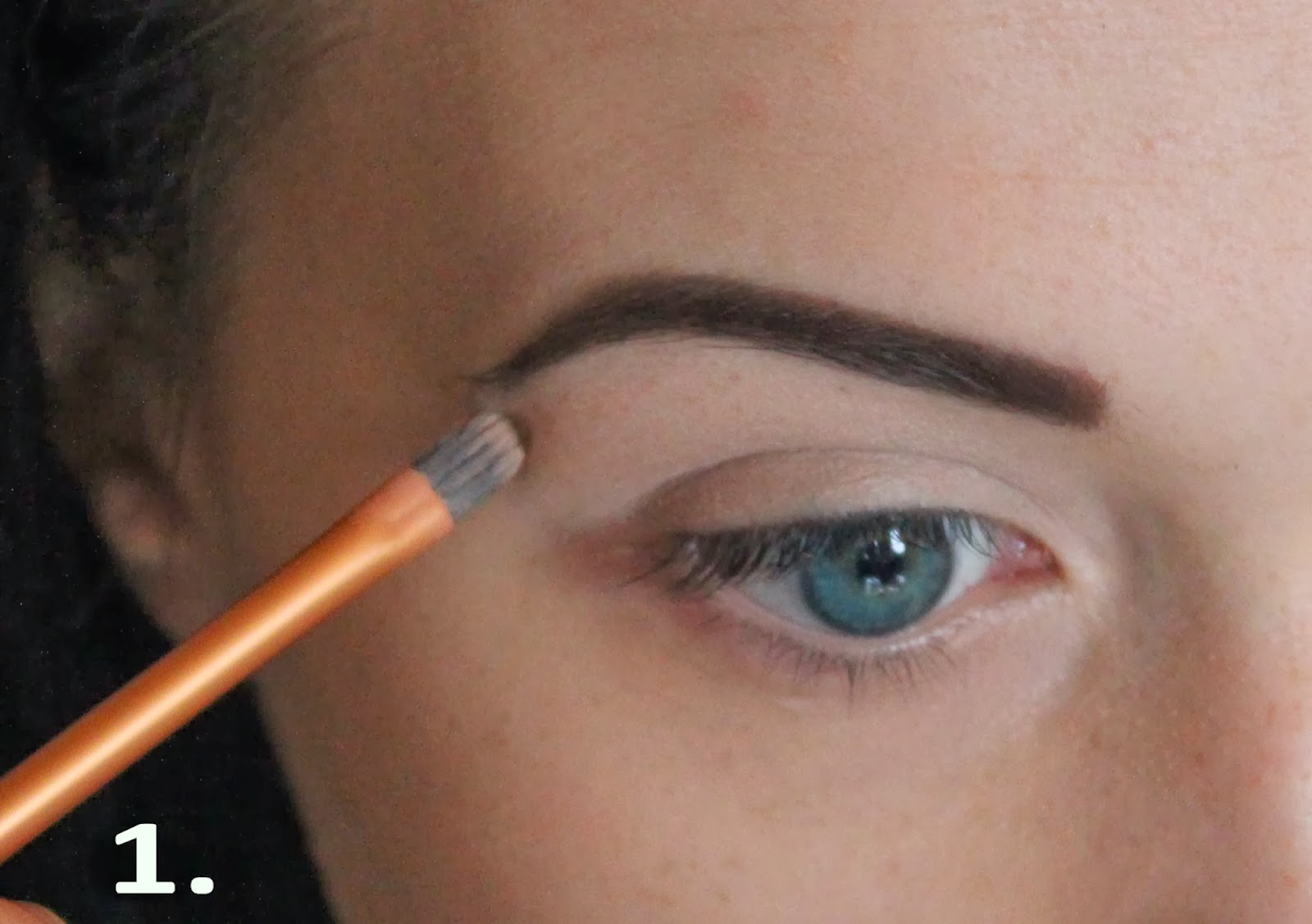 Make up art by ingrida ramanauskaite day time look smokey eye day time look smokey eye tutorial for blue eyes baditri Image collections