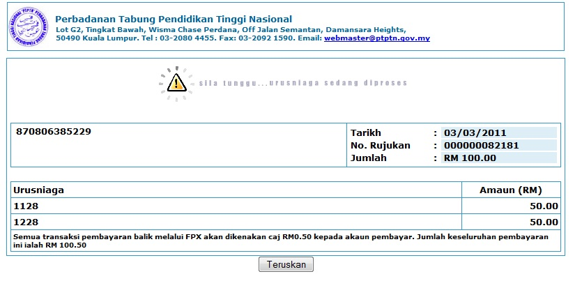 Alvins Life After 20 Ptptn A Step By Step Guide To Online Repayment