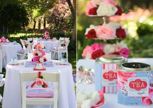 tea party theme bridal shower