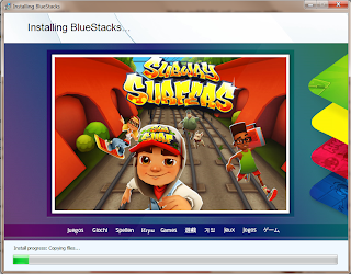 BlueStacks Subway Surfers