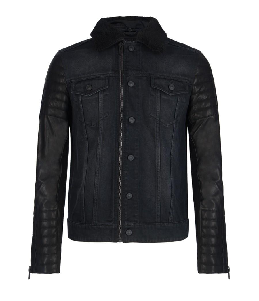 00O00 London Menswear Blog Conor Maynard in All Saints - Italian X-Factor show