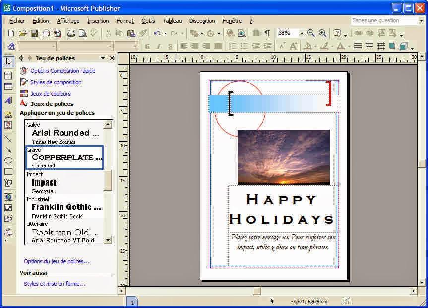 Desktop publication using MS Publisher