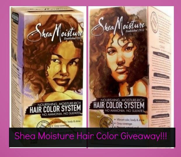 shea moisture hair color giveaway