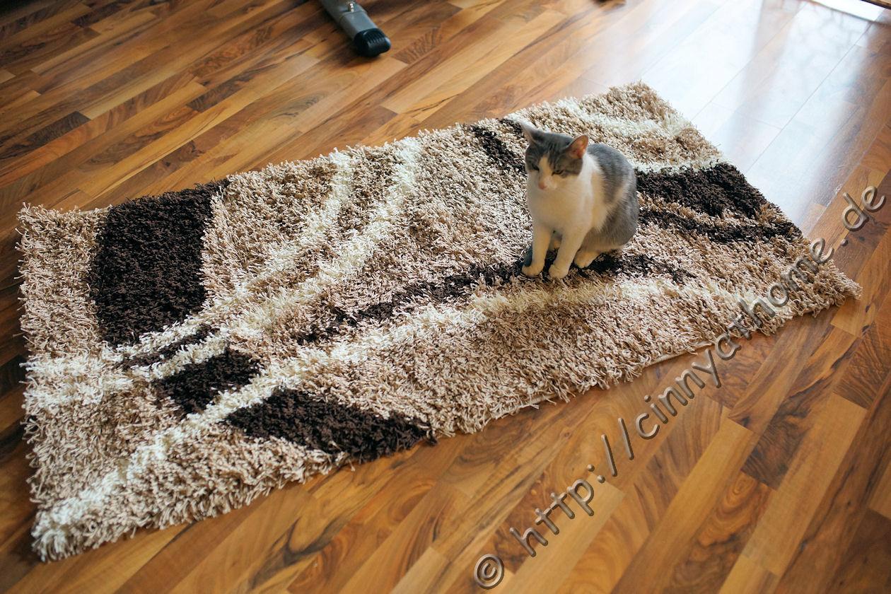 cinny home kuscheliger hochflor teppich von teppichcenter24. Black Bedroom Furniture Sets. Home Design Ideas