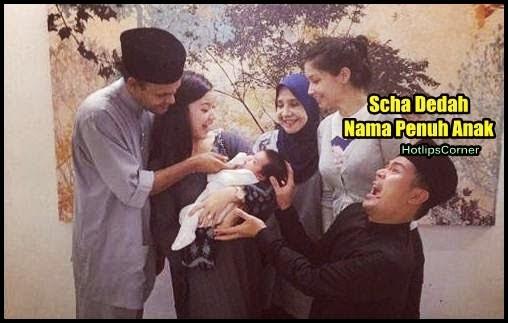 MESTI TENGOK Terjawab Sudah Gambar Muka Nama Penuh Anak Scha Yahya