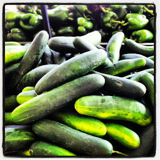 Farm Fresh Cucumbers