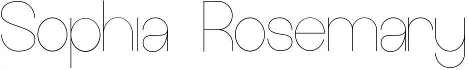 Sophia Rosemary | Manchester Lifestyle Blogger