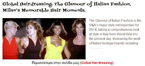 The Glamour of Italian Fashion. Milan's Memorable Hair Moments.