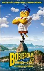 Assistir Filme Bob Esponja – Um Herói Fora D'Água Online Dublado – Legendado