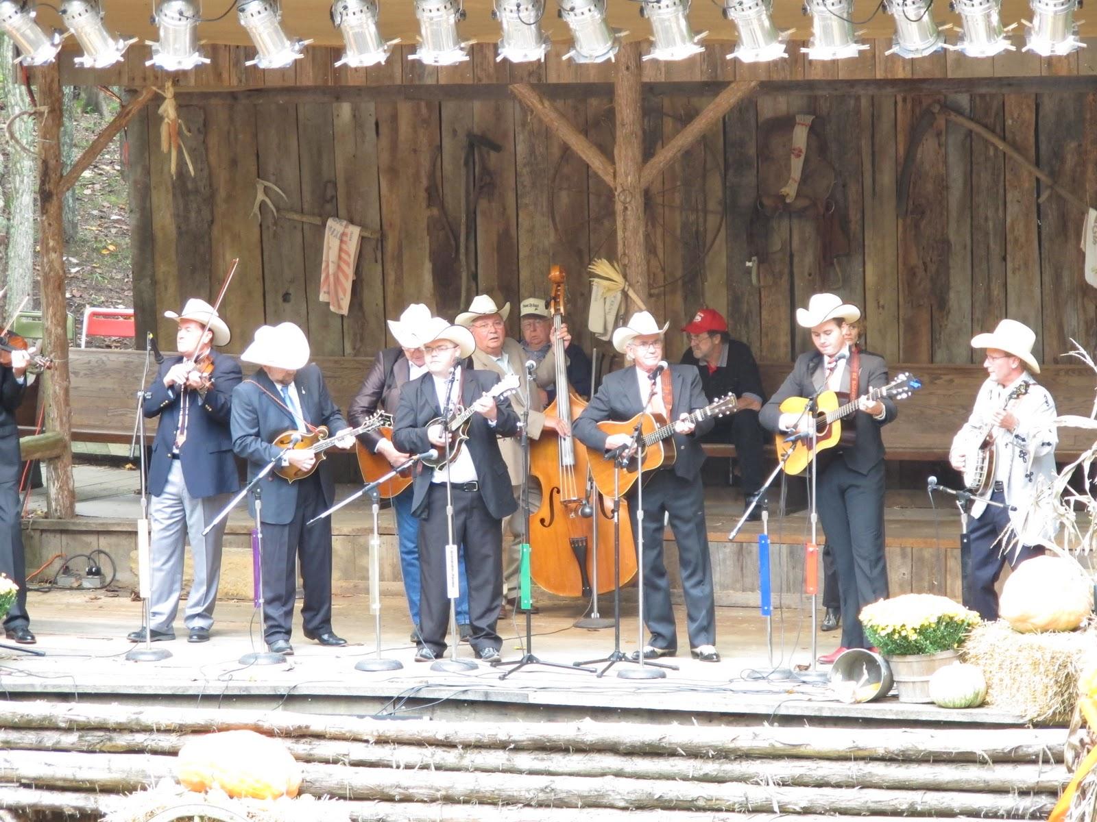 PrunePicker: Jerusalem Ridge Bluegrass Celebration. Day one.