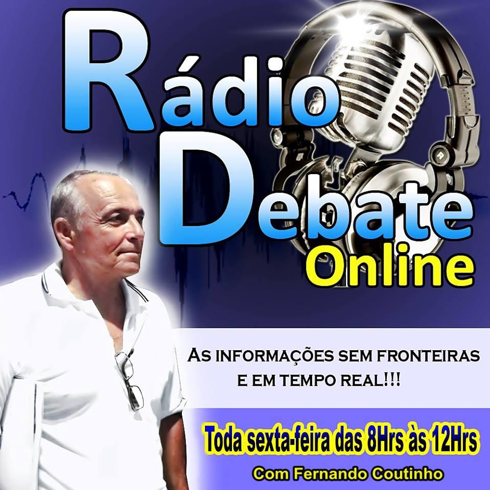 RADIODEBATE AGORA AOS SABÁDOS DAS DEZ AS TREZE HORAS