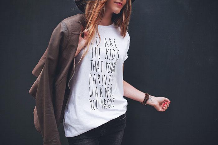 rad tee shirt