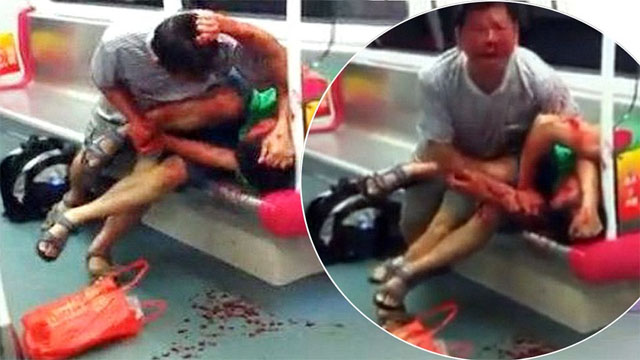 China Subway Cannibal Attack