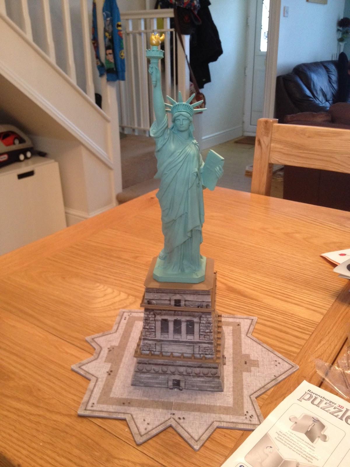 Ravensburger Puzzle Club Statue Of Liberty 3d Puzzle
