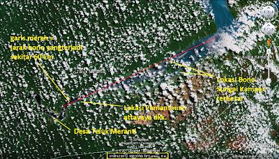 Lokasi ombak sungai Bono kampar / Tidal Bore di Dunia