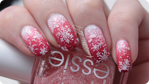 essie jiggle hi jiggle low LE schneeflocken swow pinking about you
