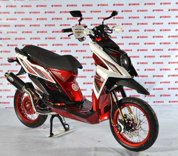 Gambar Modifikasi Yamaha X Ride title=