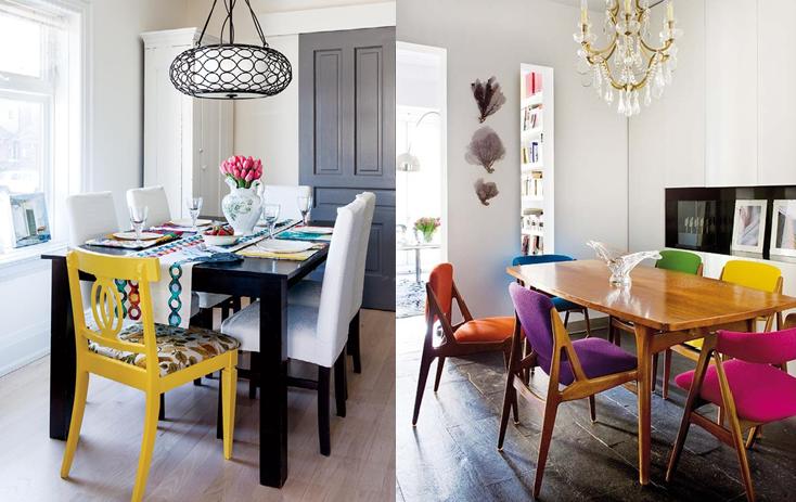 Cadeiras-diferentes-na-sala-de-jantar