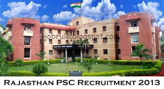 Rajasthan Public Service Commission (RPSC) Recruitment of LDC (7571 Posts) 2013 | Lipik Grade II/ Lower Division Clerk Job in Rajasthan | Apply Online | 15/09/2013