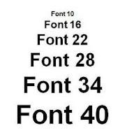 Merubah Ukuran Font Postingan Blog