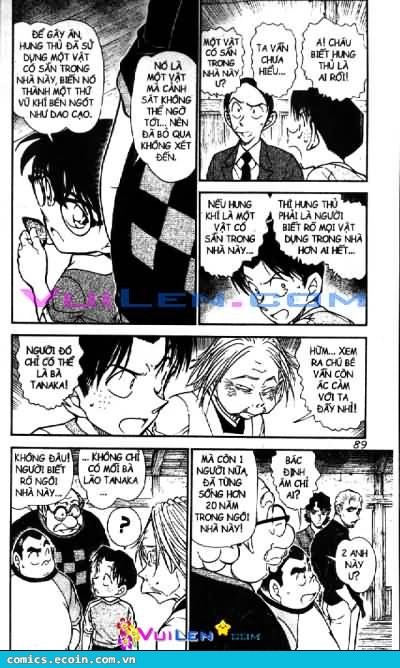 Detective Conan - Thám Tử Lừng Danh Conan chap 581 page 5 - IZTruyenTranh.com