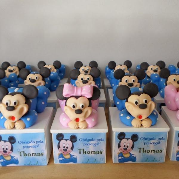 Lembrancinhas do Mickey e da Minie