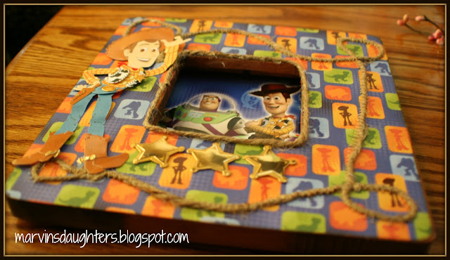 Marvin's Daughter: Toy Story Woody Frame