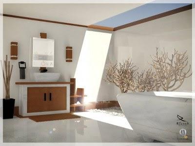 Desain Kamar Mandi Minimalis Terbaru
