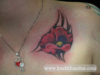 Poppy Flower Tattoo:Meaning and Designs